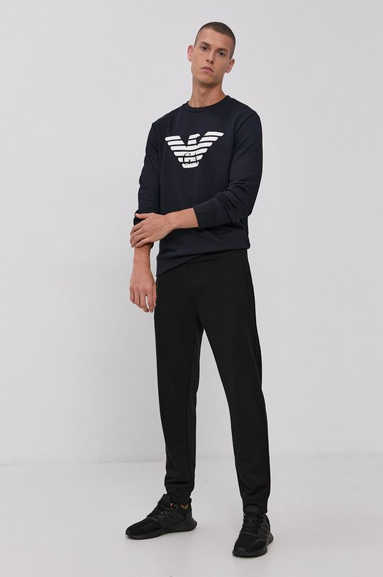 Emporio Armani - Spodnie czarny