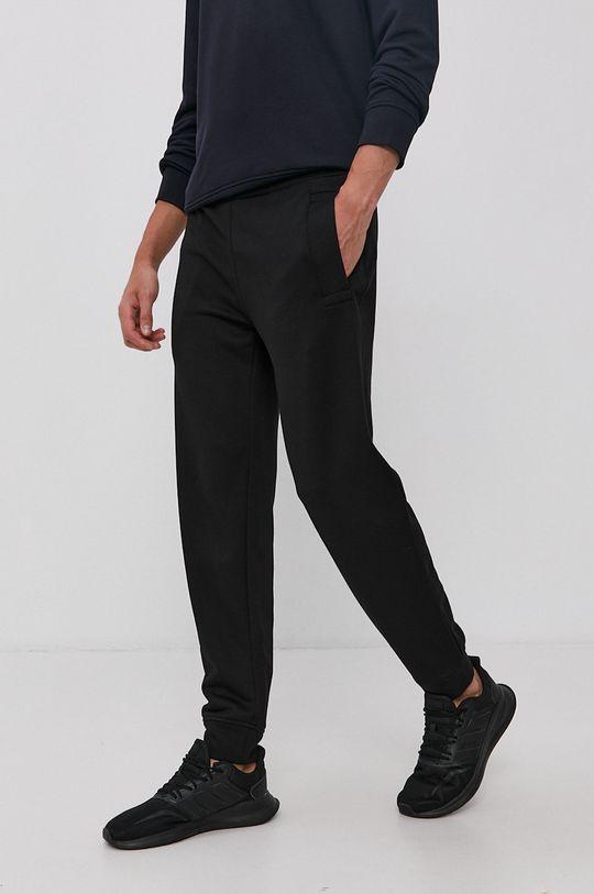 czarny Emporio Armani - Spodnie