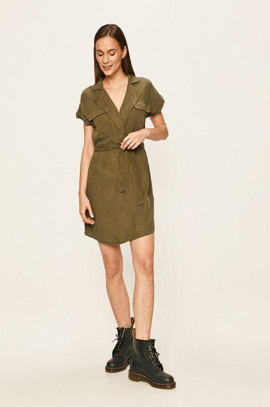 Noisy May - Sukienka oliwkowy