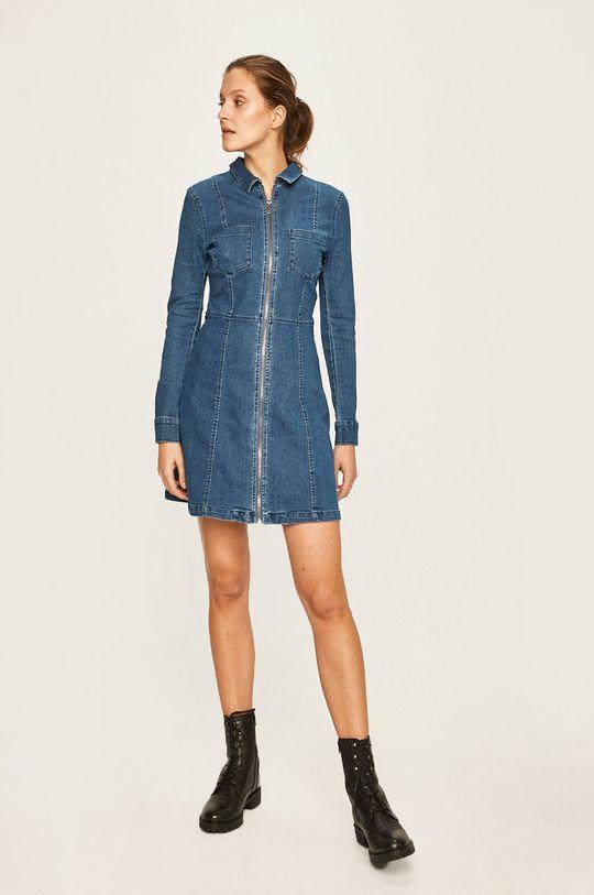 Noisy May - Sukienka jeansowa niebieski