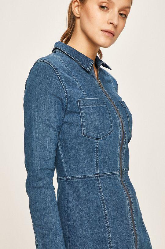 niebieski Noisy May - Sukienka jeansowa