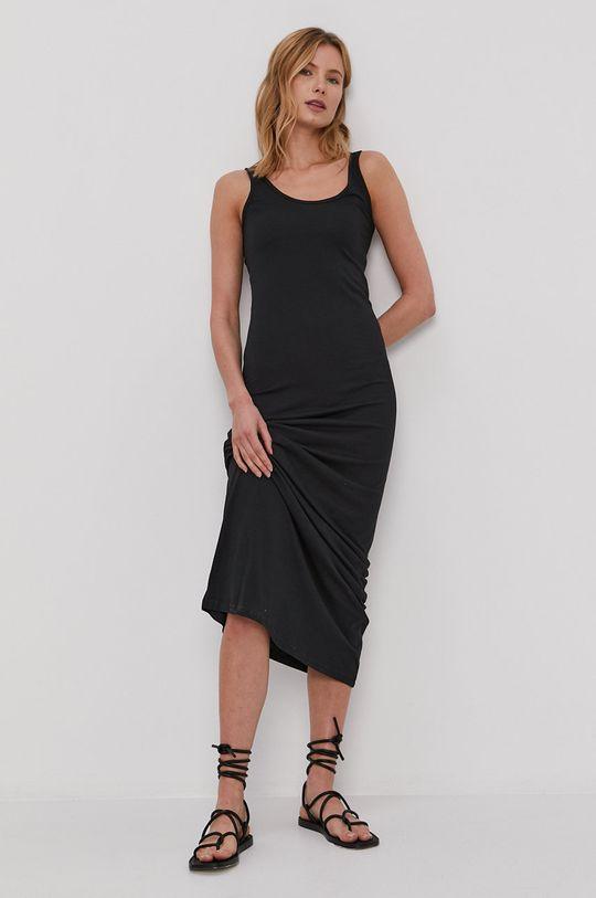 čierna Vero Moda - Šaty Dámsky