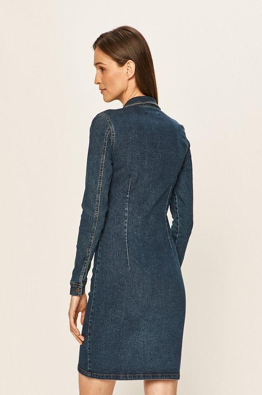 Jacqueline de Yong - Sukienka jeansowa 79 % Bawełna, 1 % Elastan, 20 % Poliester