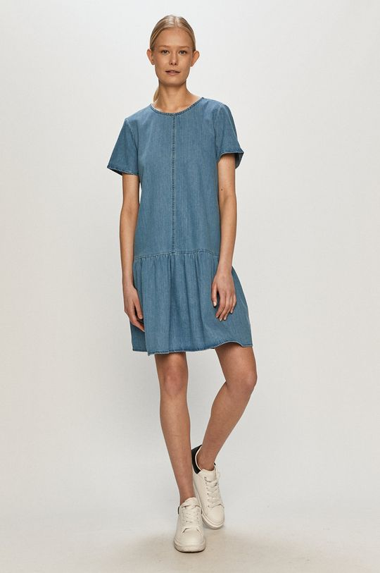 Noisy May - Rochie jeans albastru