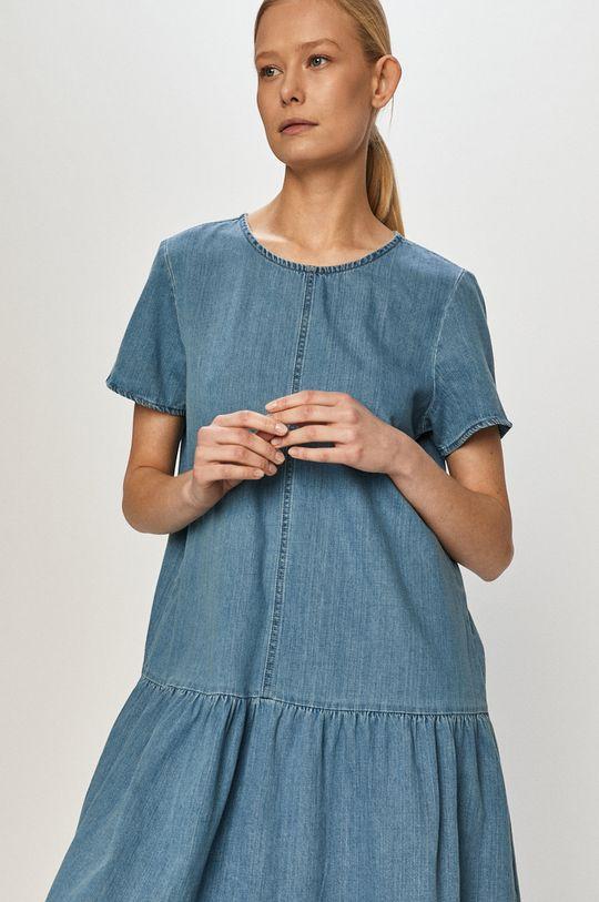 albastru Noisy May - Rochie jeans