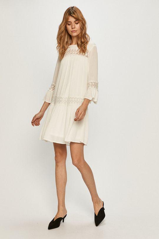 Only - Šaty biela