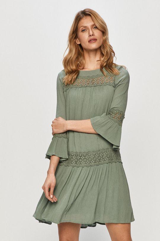 stalowy zielony Only - Sukienka Damski