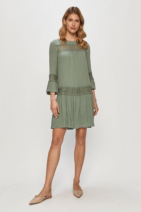 Only - Sukienka stalowy zielony