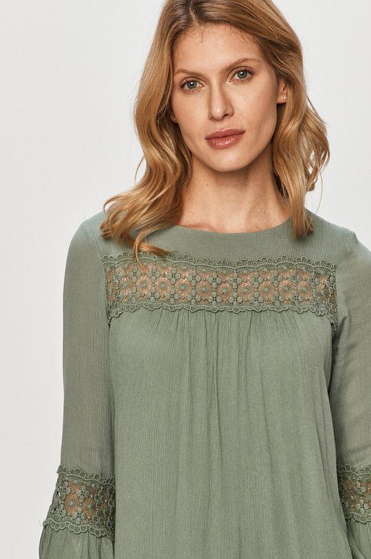 stalowy zielony Only - Sukienka