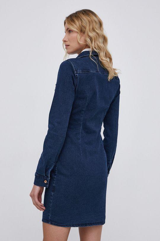 Noisy May - Sukienka jeansowa 51 % Bawełna, 2 % Elastan, 24 % Poliester, 3 % Wiskoza, 20 % Bawełna z recyklingu