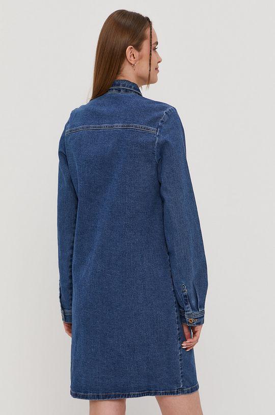 Pieces - Sukienka jeansowa 79 % Bawełna, 1 % Elastan, 20 % Poliester