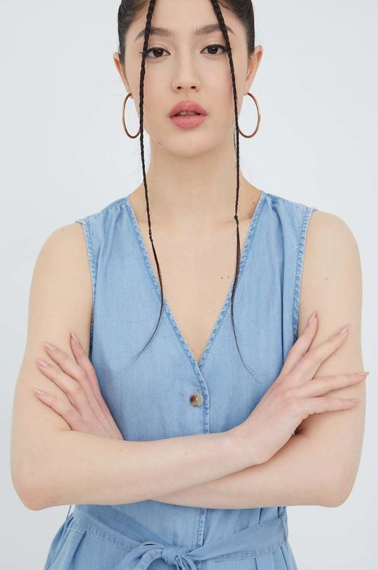 jasny niebieski Vero Moda - Sukienka