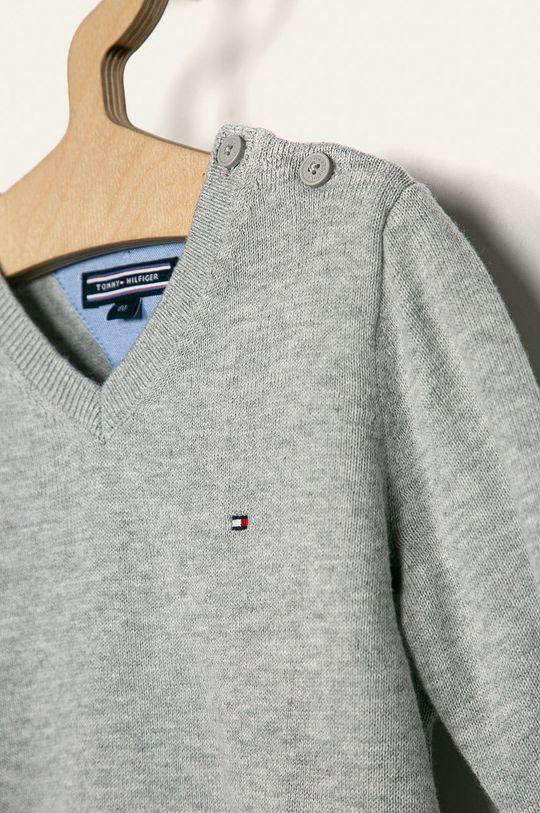 Tommy Hilfiger - Detský sveter 80-176 cm sivá