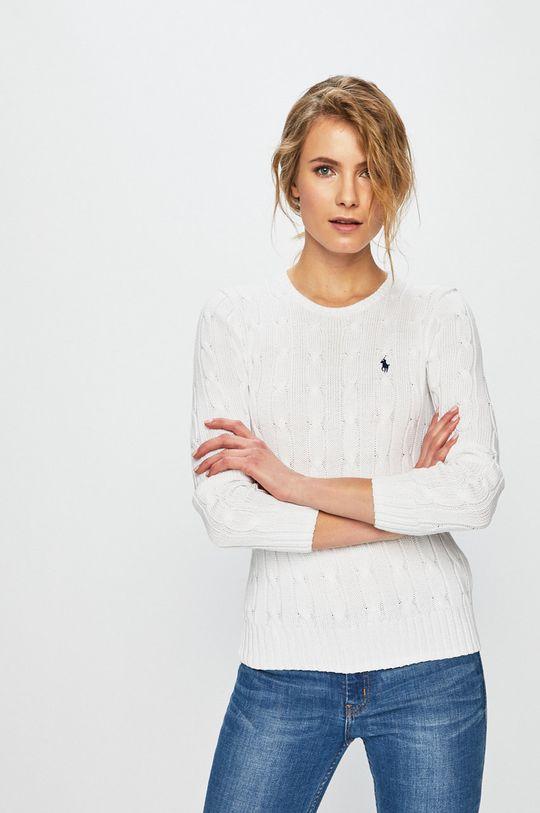 biały Polo Ralph Lauren - Sweter Damski