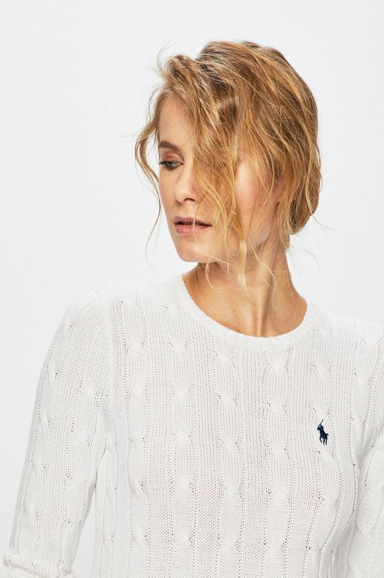 biały Polo Ralph Lauren - Sweter