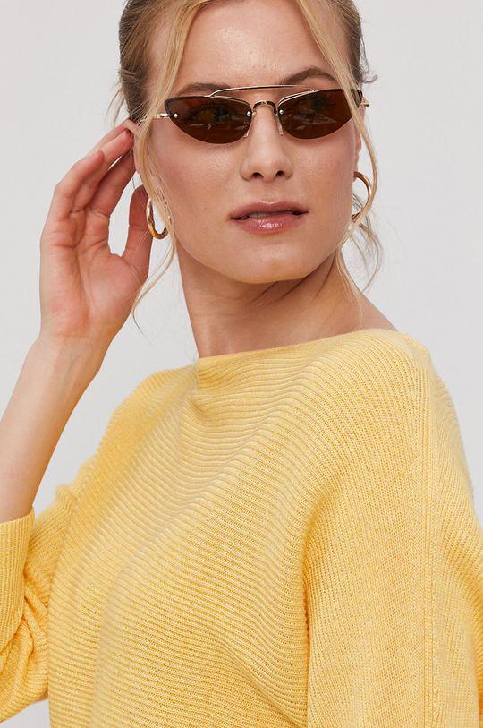 żółty Vero Moda - Sweter