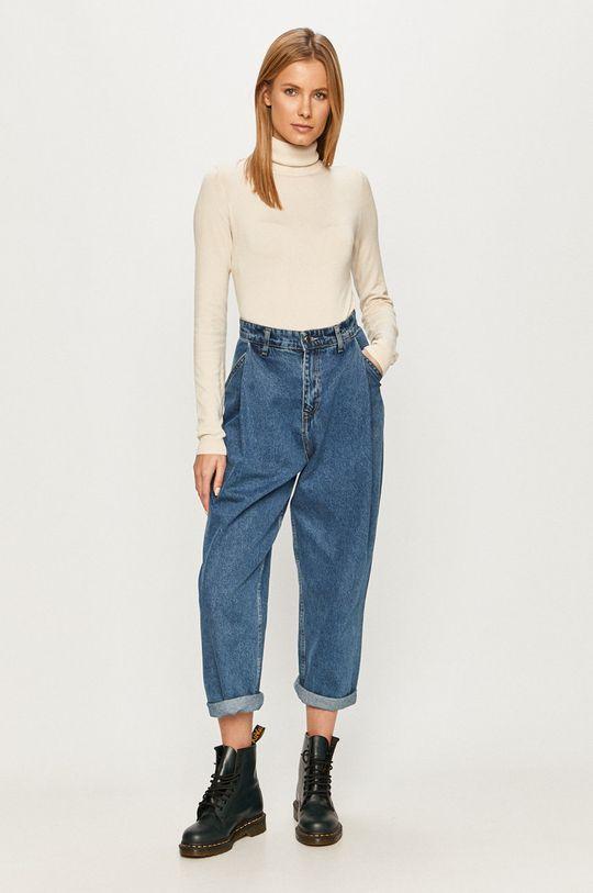 Vero Moda - Sweter beżowy
