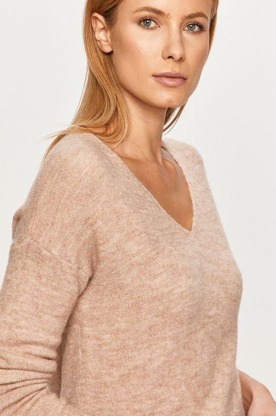 fialovo-růžová Jacqueline de Yong - Svetr