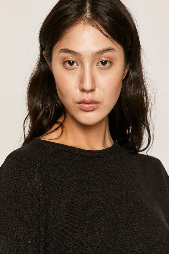 čierna Jacqueline de Yong - Sveter