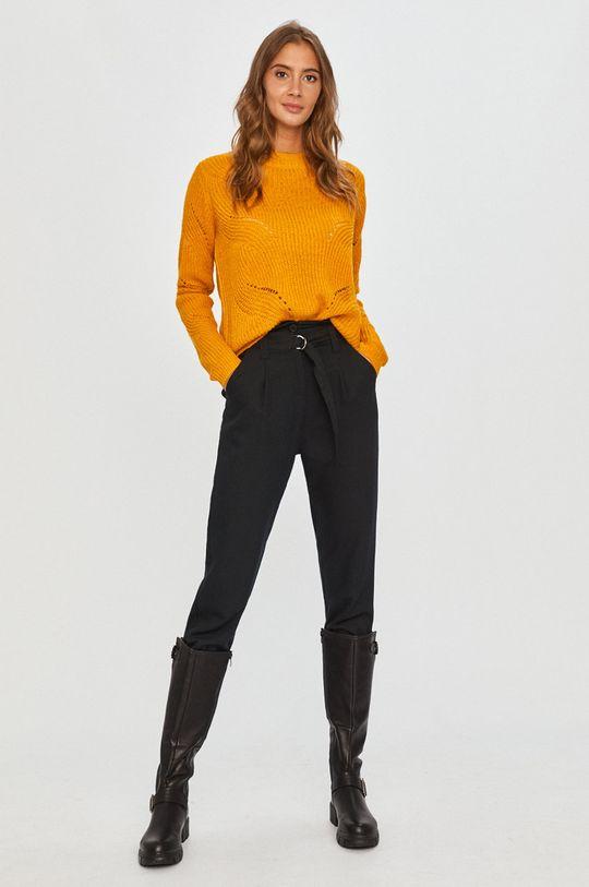 Jacqueline de Yong - Sweter żółty