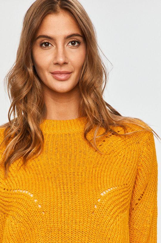 żółty Jacqueline de Yong - Sweter