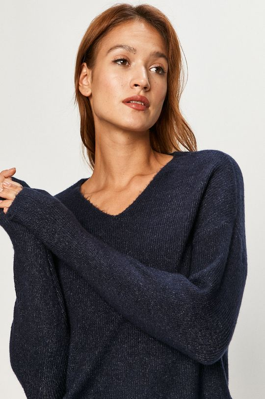 granatowy Vero Moda - Sweter