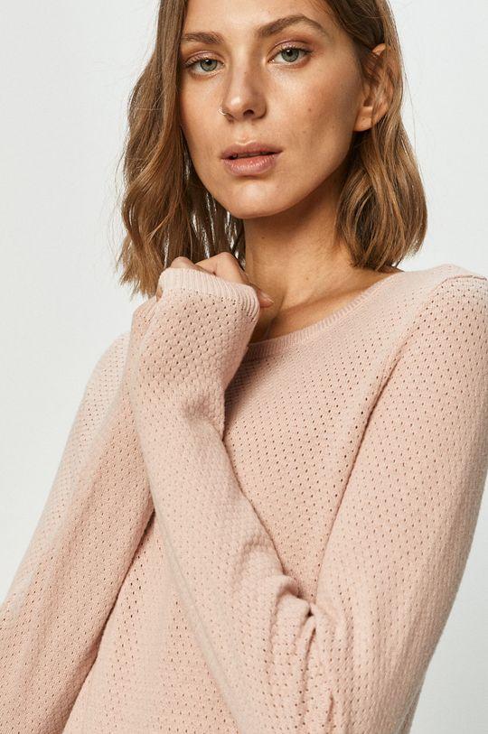 pastelowy różowy Vero Moda - Sweter