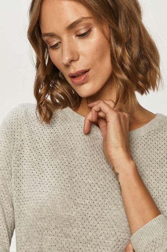 jasny szary Vero Moda - Sweter