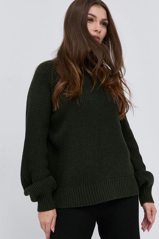 zielony Noisy May - Sweter
