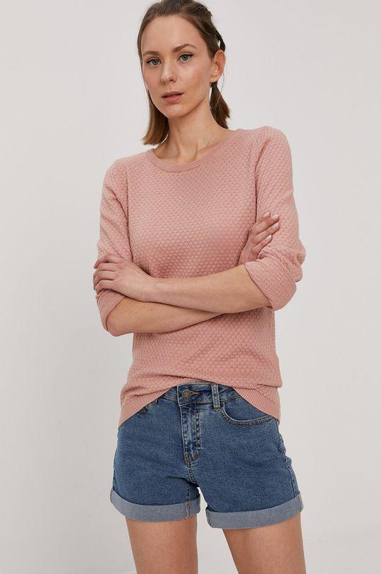 brudny róż Vero Moda - Sweter Damski