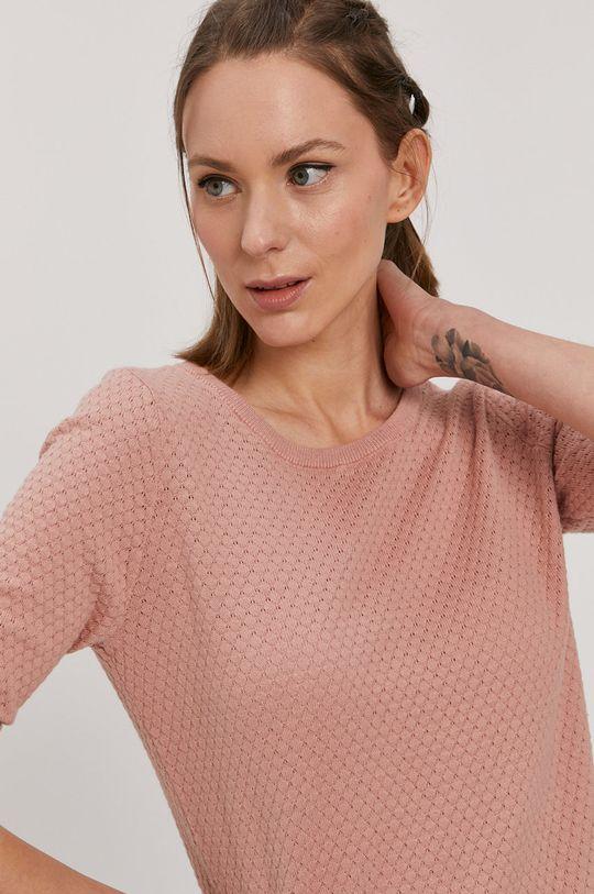 brudny róż Vero Moda - Sweter