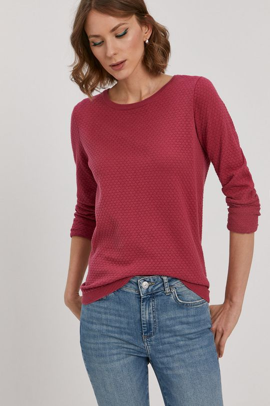 Vero Moda - Sweter ostry różowy