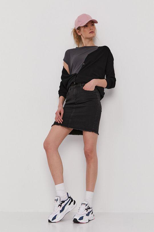 Pieces - Sweter czarny