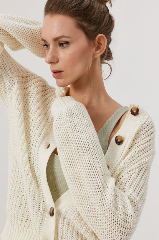 kremowy Pieces - Sweter