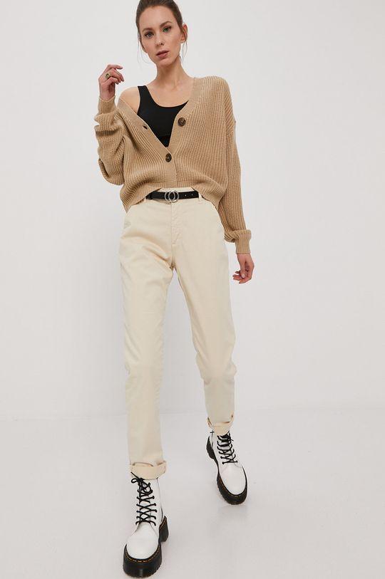 Vero Moda - Kardigan piaskowy