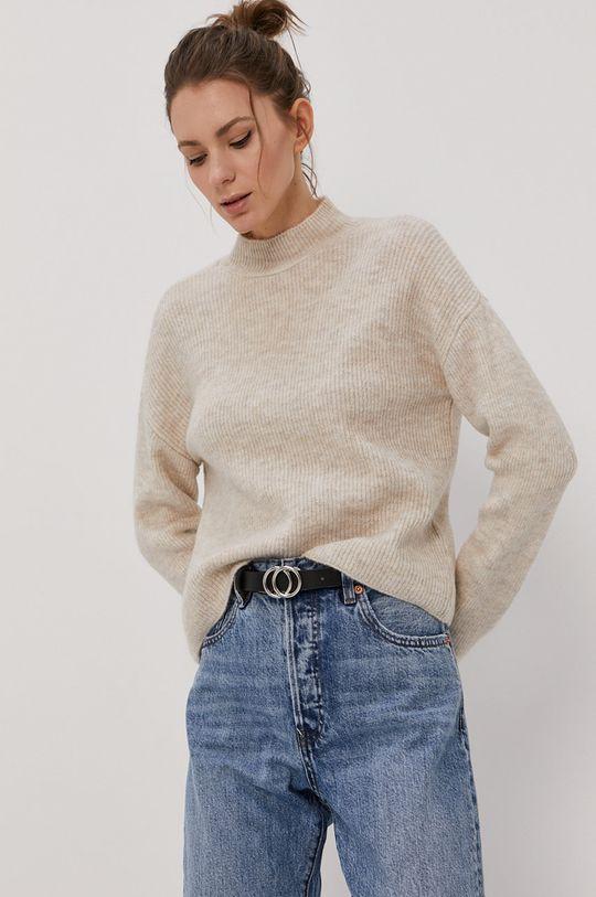krémová Vero Moda - Sveter