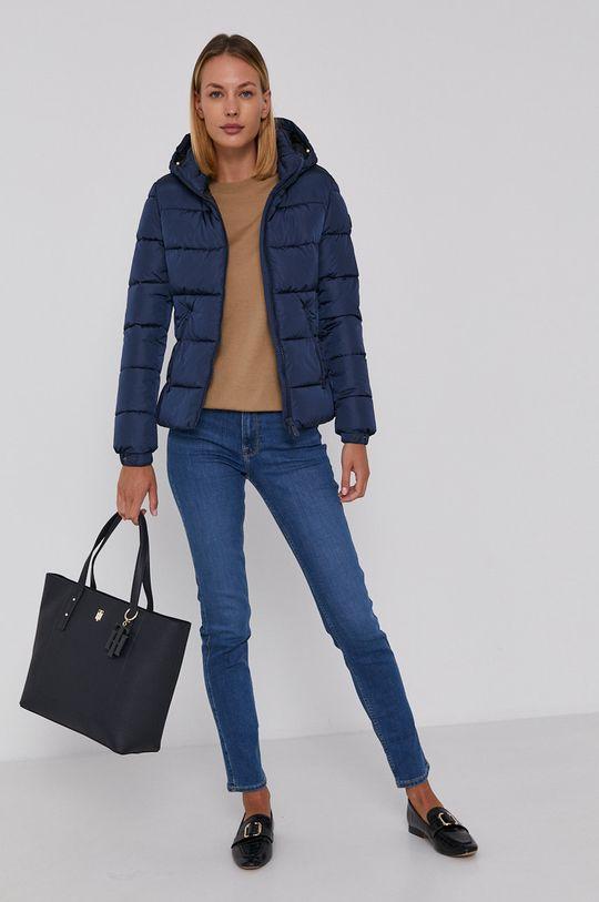 Emporio Armani - Sweter wełniany beżowy