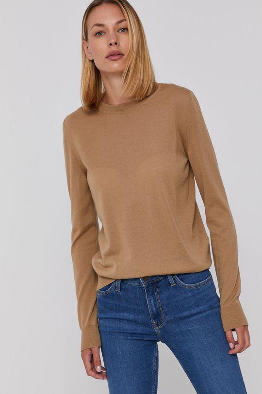 Emporio Armani - Sweter wełniany 100 % Wełna