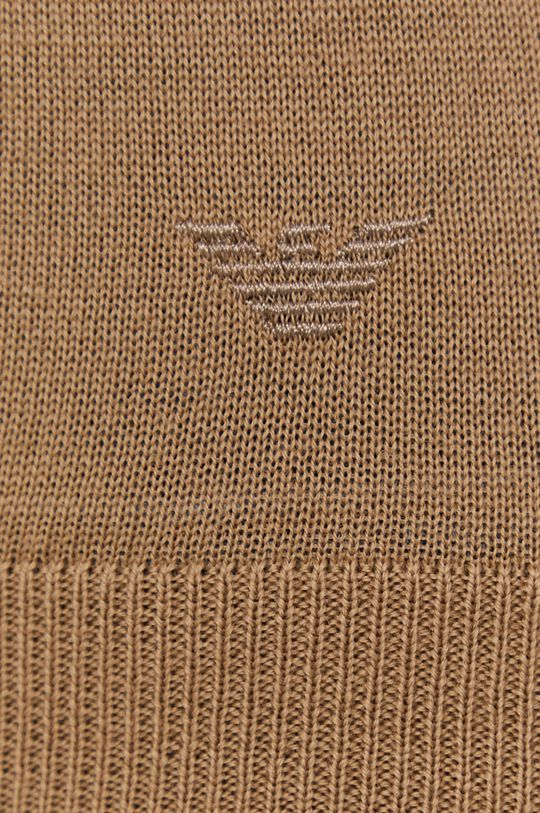 Emporio Armani - Sweter wełniany Damski