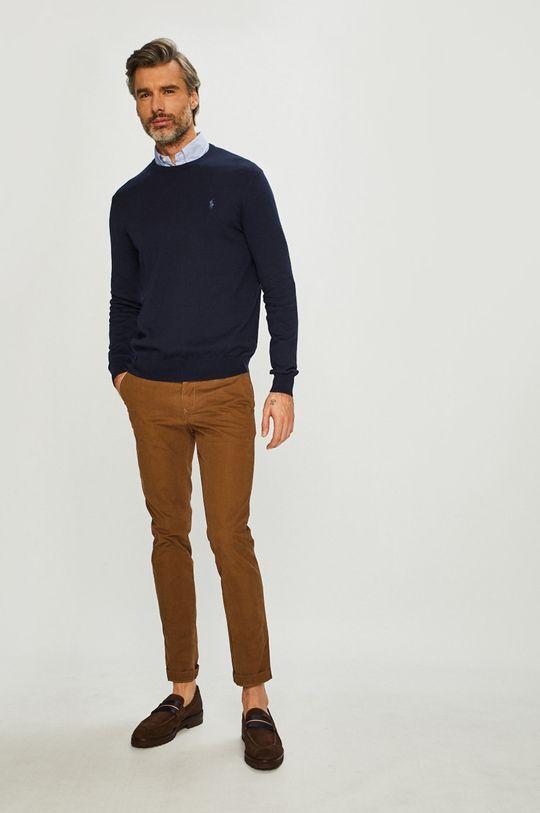 Polo Ralph Lauren - Sweter granatowy