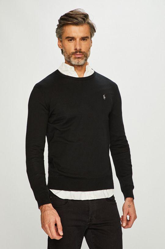 negru Polo Ralph Lauren - Pulover De bărbați