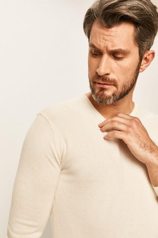 kremowy Tailored & Originals - Sweter