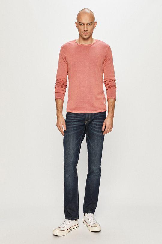 Jack & Jones - Sweter 12174001 ostry różowy