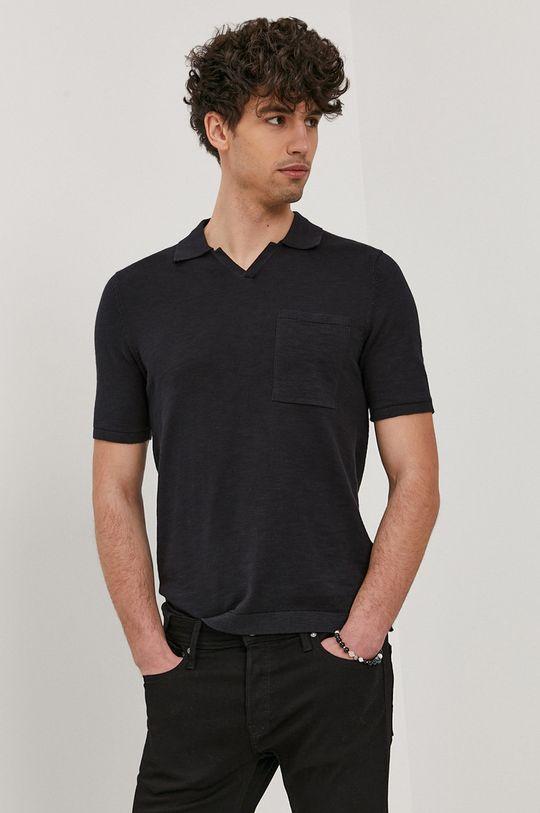 námořnická modř Only & Sons - Polo tričko Pánský