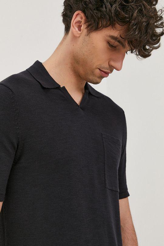 námořnická modř Only & Sons - Polo tričko