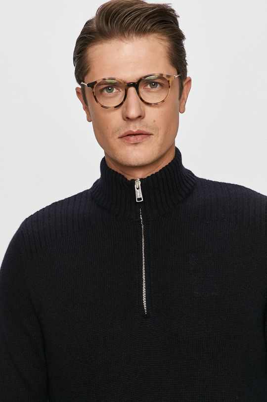 granatowy Marc O'Polo - Sweter