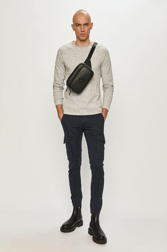 Jack & Jones - Sweter jasny szary