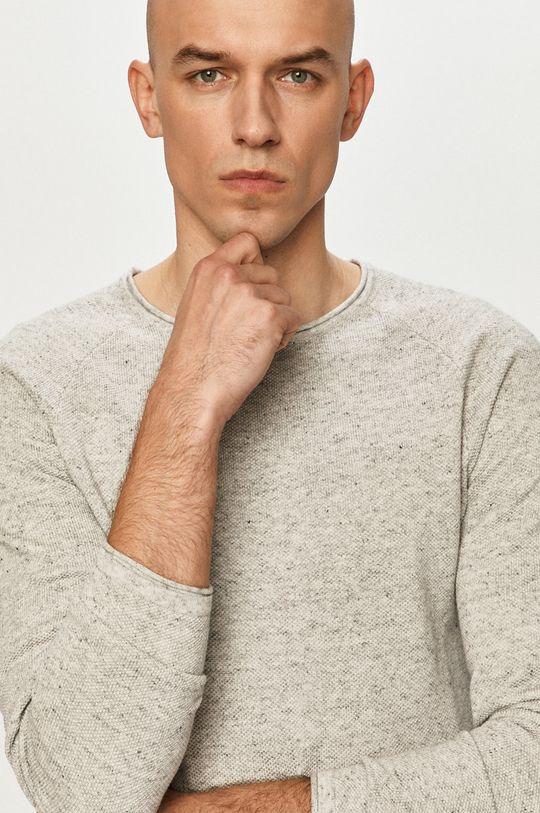 jasny szary Jack & Jones - Sweter
