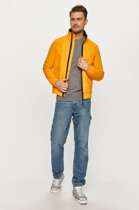 Selected - Bluza bawełniana szary
