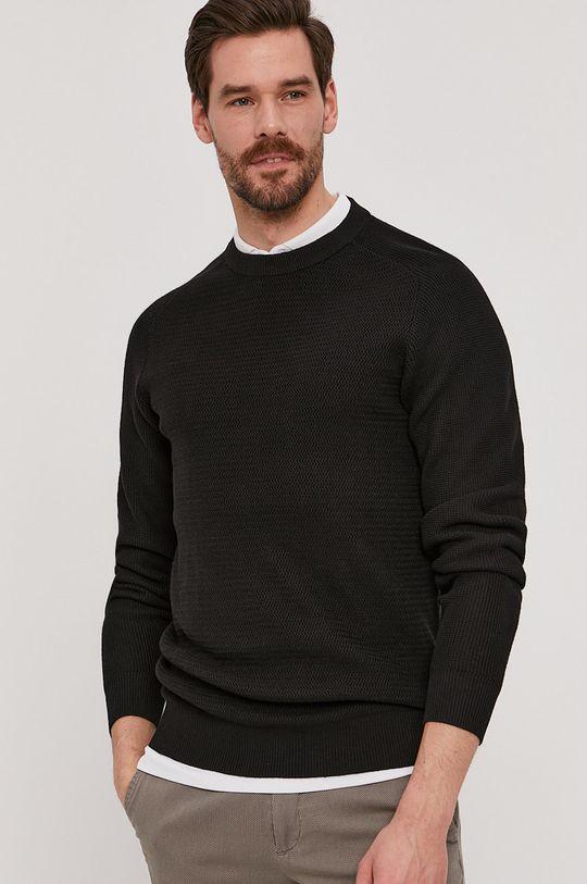 czarny Selected - Sweter